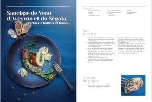 Livre de recette avec Nicole Fagegaltier